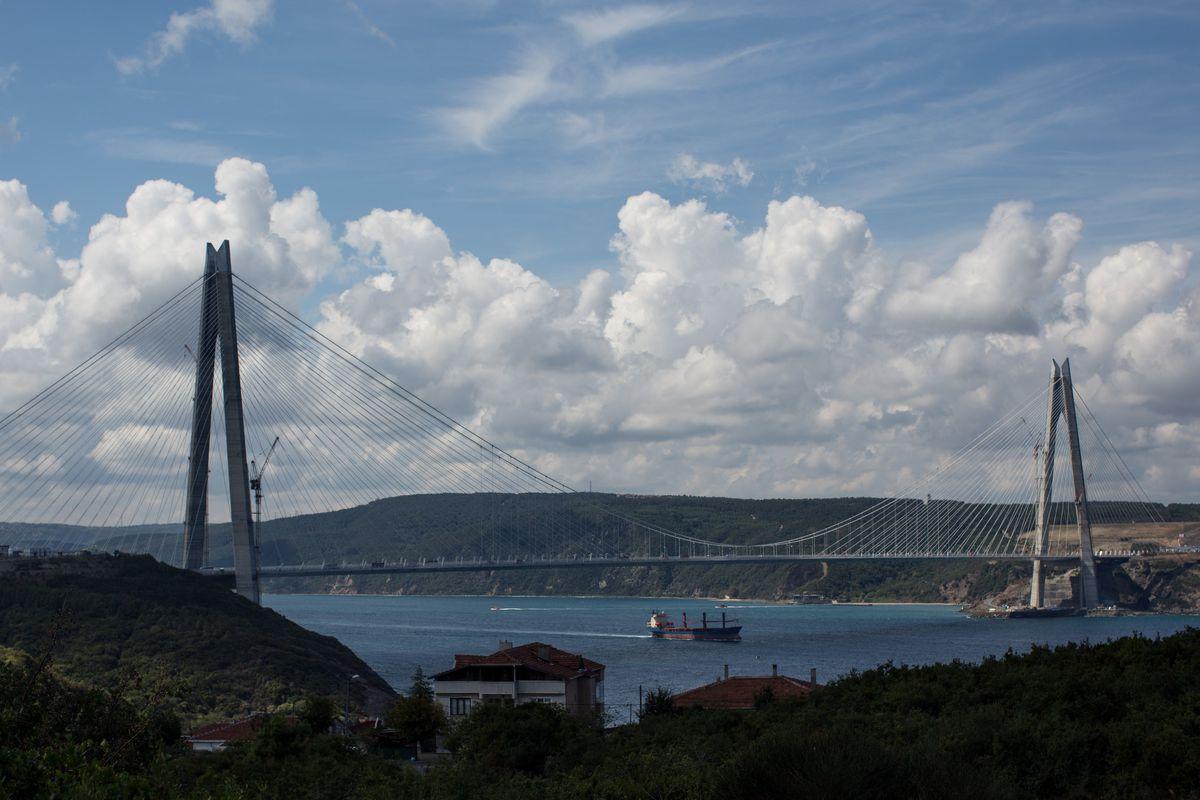 Istanbul's Yavuz Sultan Selim Bridge Opens to Traffic
