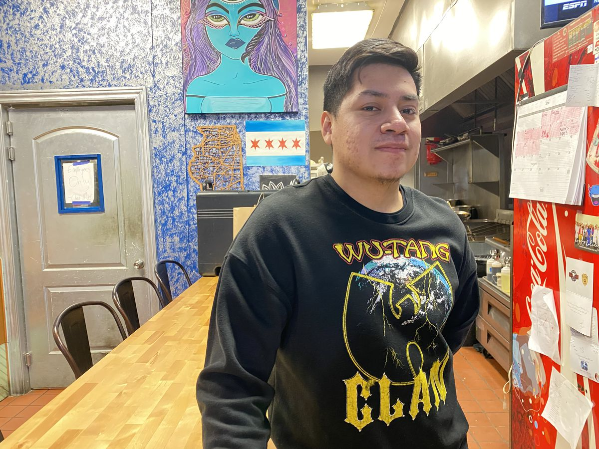 Alberto Landeros, 23, manager of Casa Indigo, says the ordinance may be hard for people that rely heavily on plastic, Wednesday, Jan. 15, 2020.