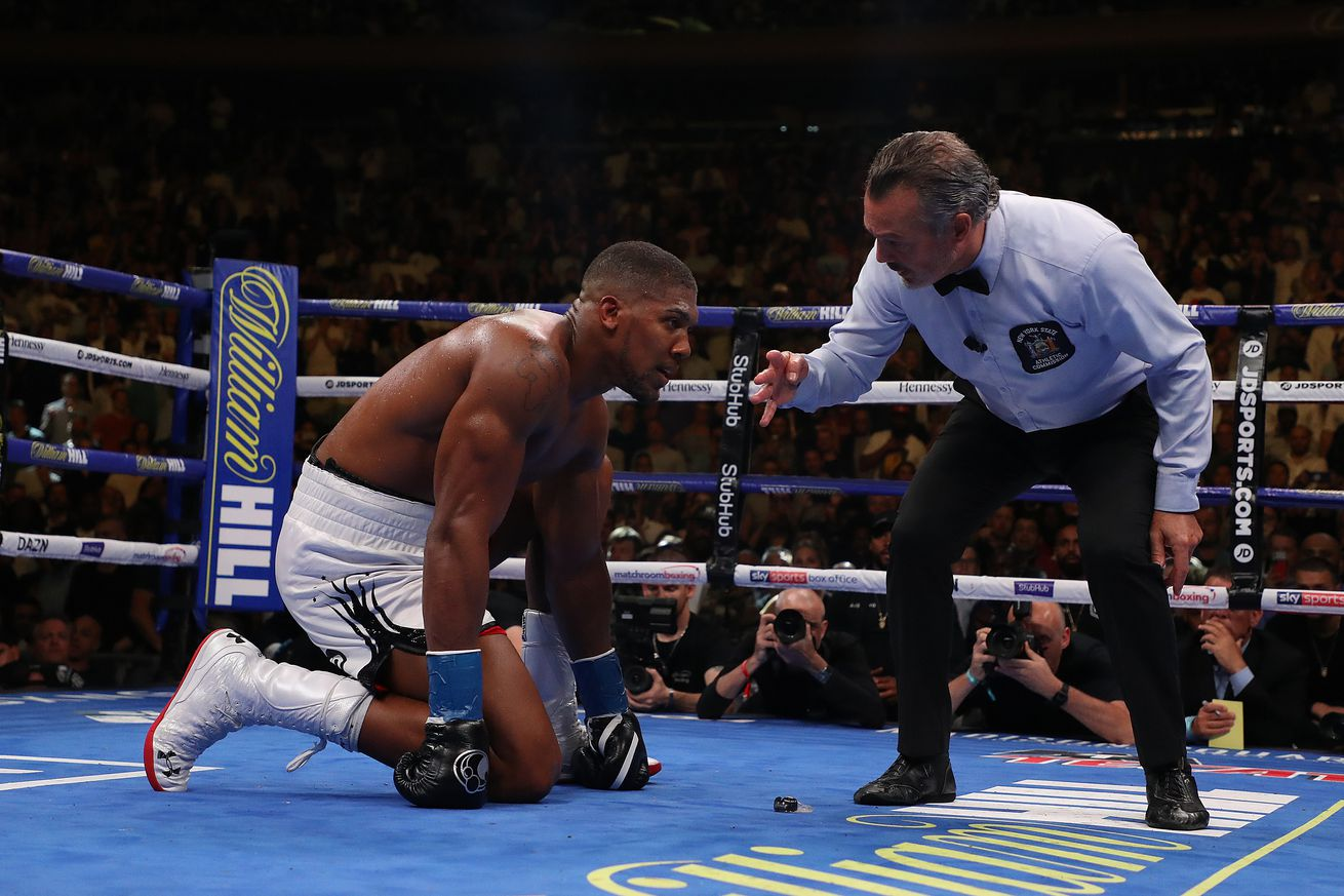 1153150066.jpg.0 - Joshua reportedly KO'd in sparring leading into Ruiz fight