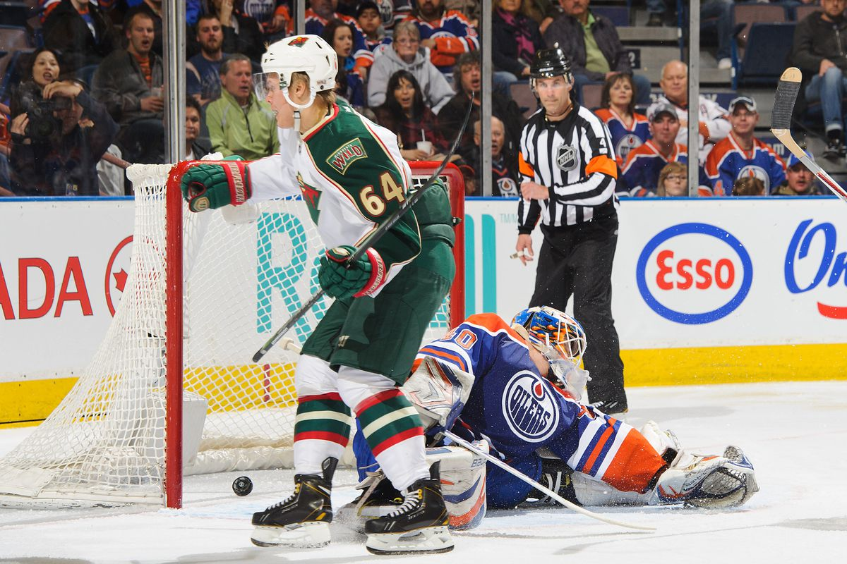 The Wild have to be pretty happy he didn't make it out of Alberta.