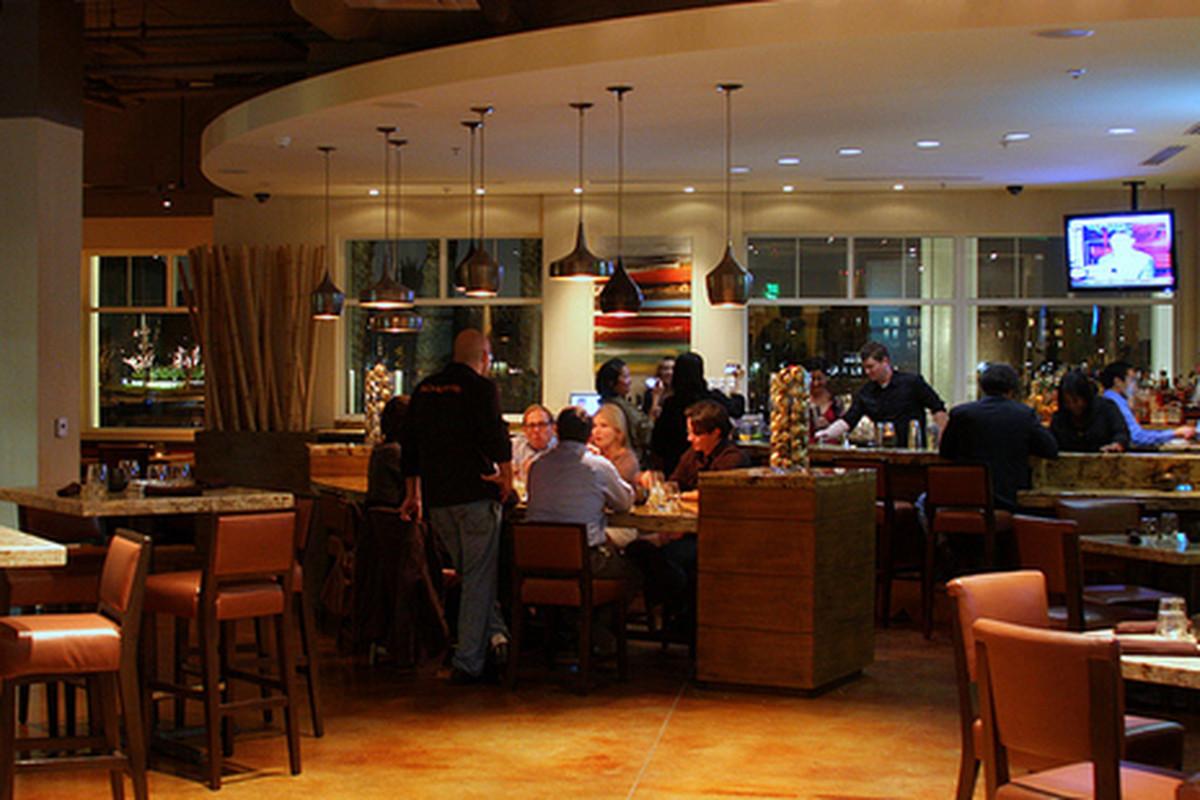 Vu Restaurant, Marina del Rey.