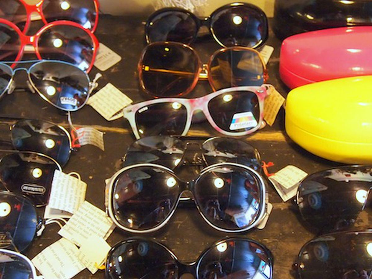 Sunglasses at Franklin Square