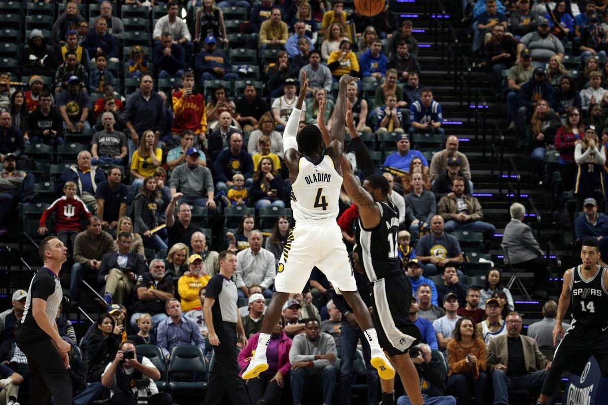 NBA: San Antonio Spurs at Indiana Pacers