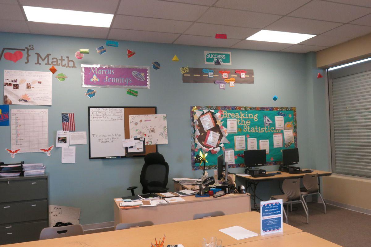 Inside Pathways' Frayser school.