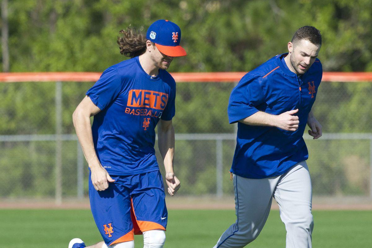 MLB: New York Mets Practice