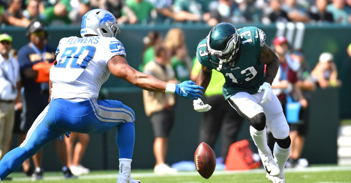 Eagles v. Lions Week 3: 14 winners, losers, and I dunnos