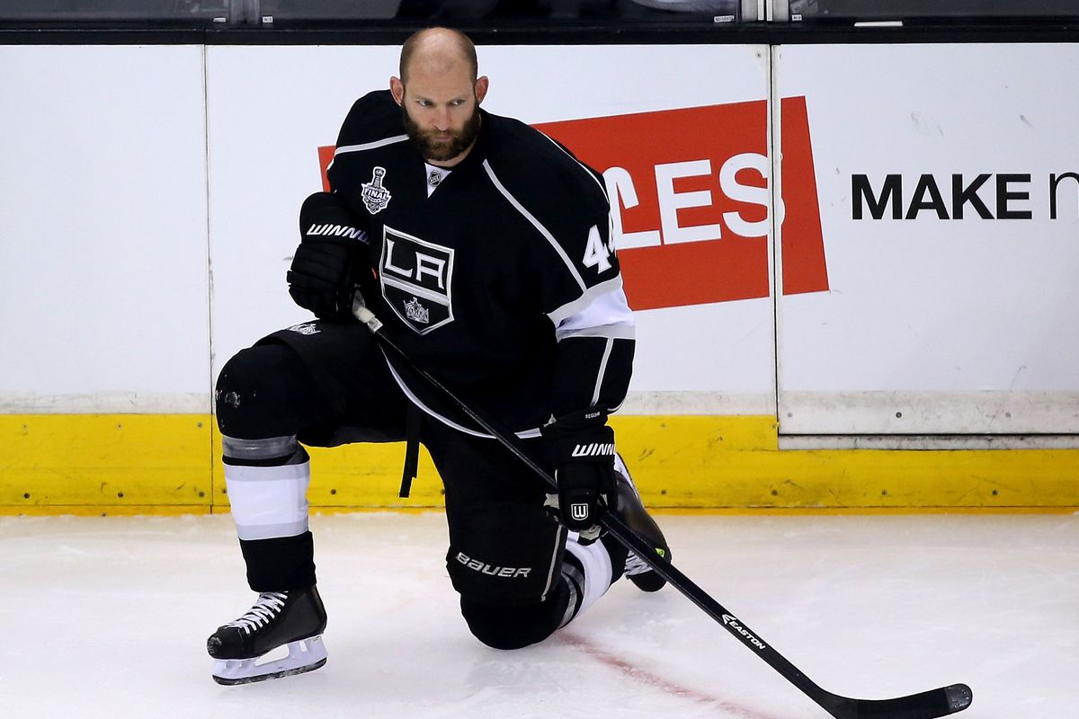 Robyn Regehr is where Corsi goes to die