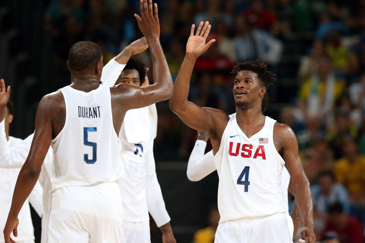 Olympics: Basketball-Men's Team-Quarterfinal -USA vs ARG