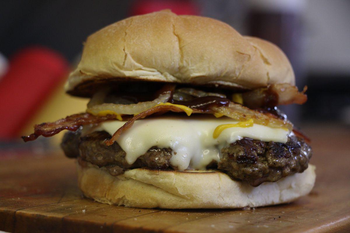 Smokehouse burger at Dairy Joy