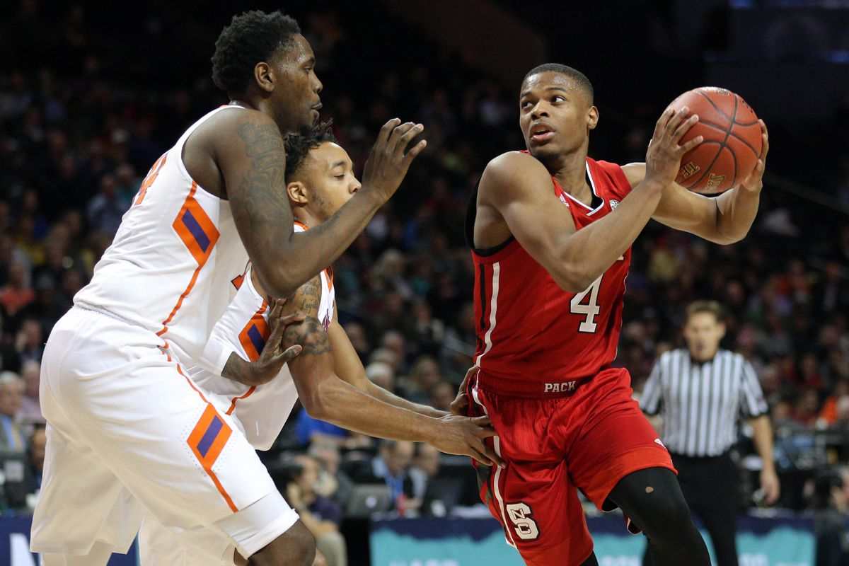 NCAA Basketball: ACC Conference Tournament-Clemson vs NC State
