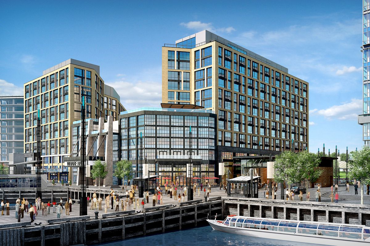 Inside The Wharf S New Apartment Buildings Curbed Dc