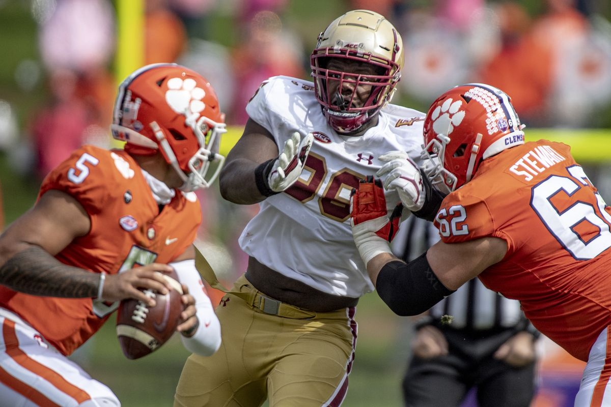 Clemson Vs Boston College Tigers Play An Ugly Game But Ultimately Prevail Over The Eagles Shakin The Southland