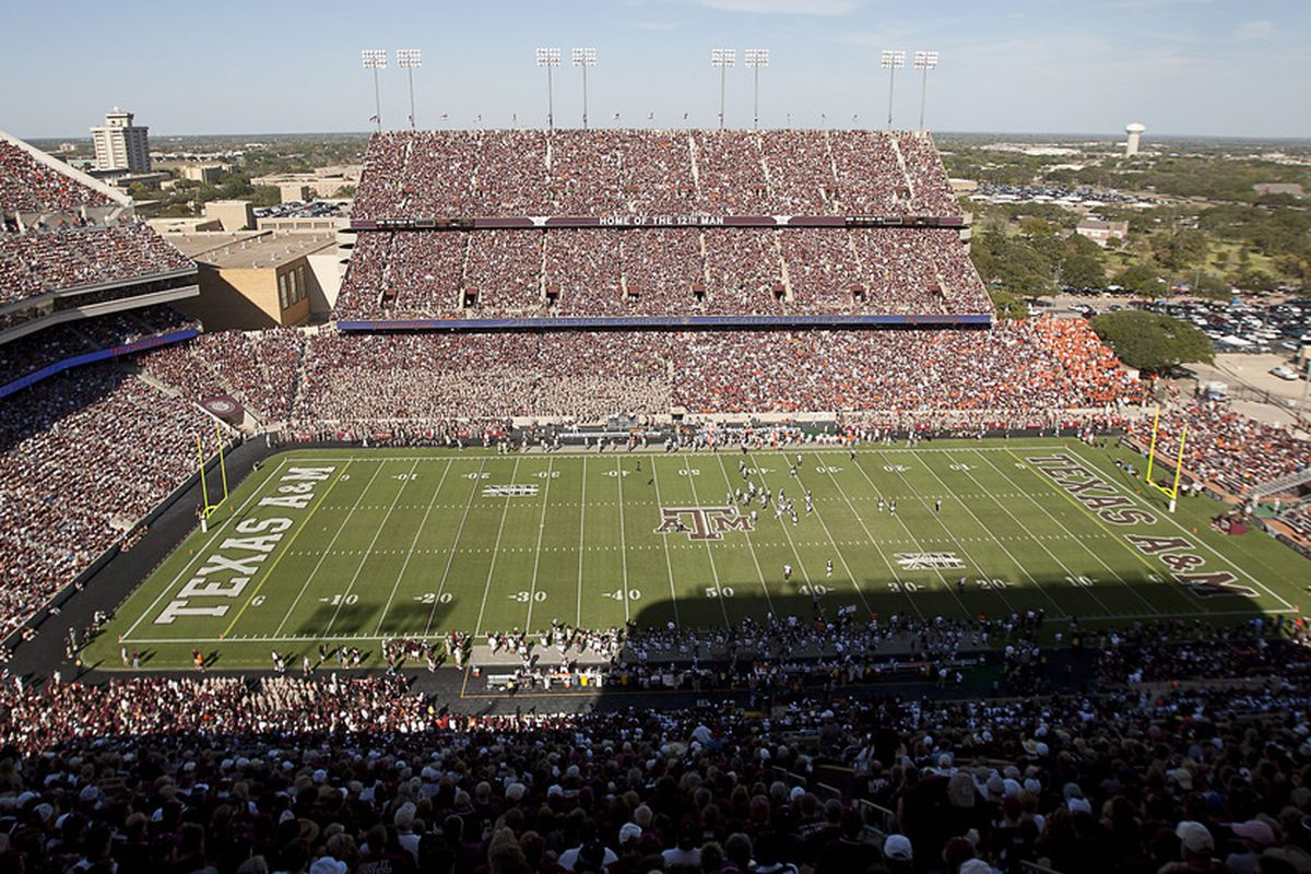 COLLEGE STATION, TX - SEPTEMBER 24:  A general view of Kyle Field on September 24, 2011 in College Station, Texas.  (Photo by Bob Levey/Getty Images)