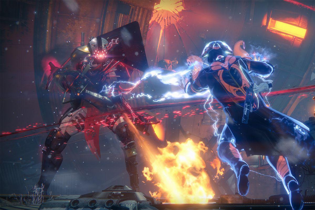 Destiny: Rise of Iron - Stormcaller in raid