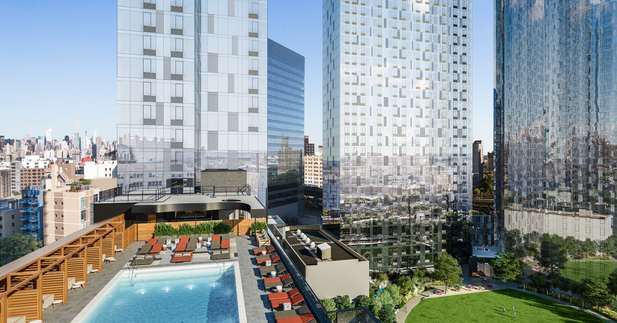 Long Island City S 1 800 Unit Rental Jackson Park Launches