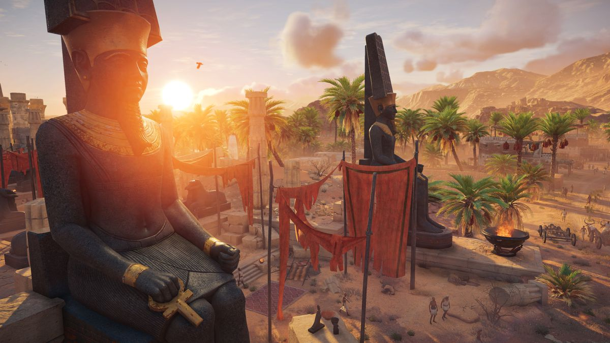 Assassin S Creed Origins Review Polygon