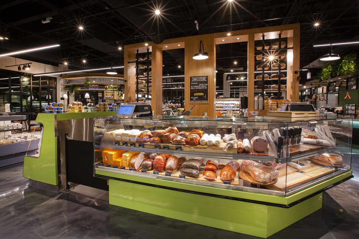 A deli section.