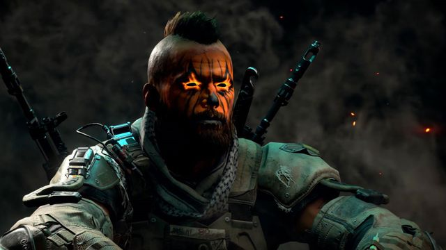 A face paint option available in <em>Black Ops 4</em>'s Black Market.