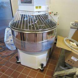 The Italian dough mixing machine.