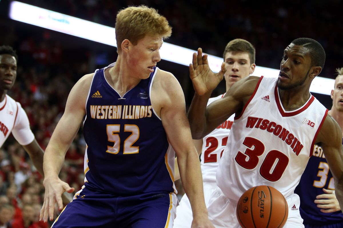 Countering with an awkward ginger center of their own, the Leathernecks proved too much for the #17 Badgers.
