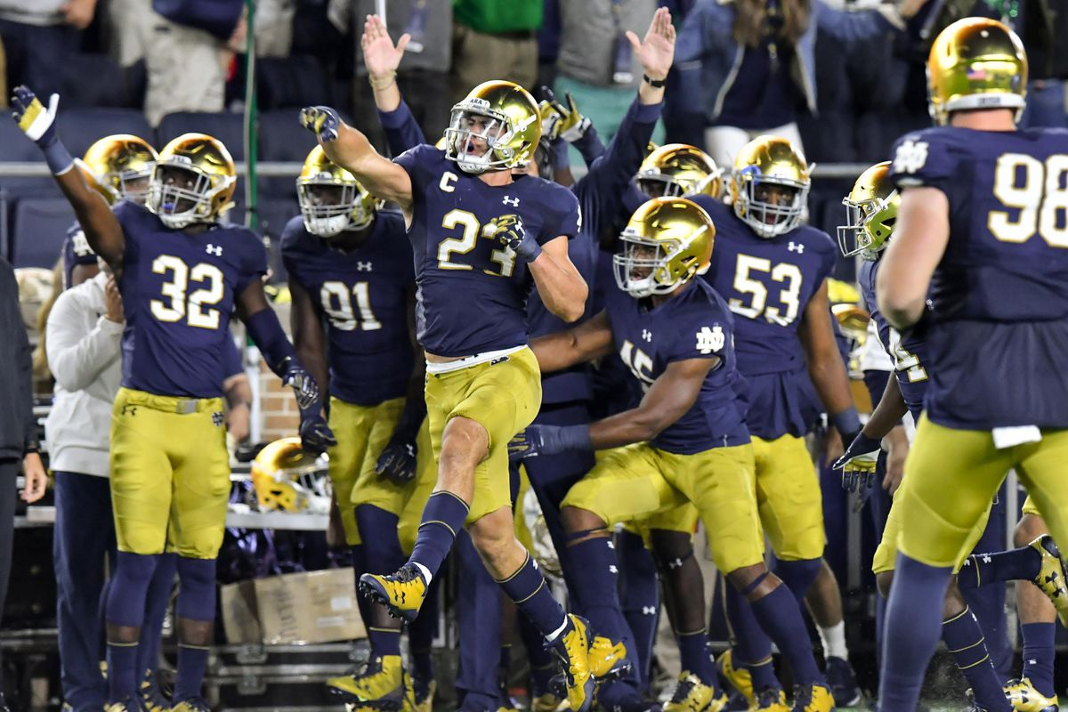 9bb15bed05f OFD Staff Picks: Notre Dame Fighting Irish vs Boston College Eagles ...