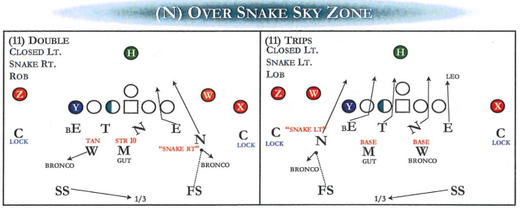 Over Snake Fire Zone