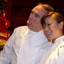 José Andrés with Shirley Chung.