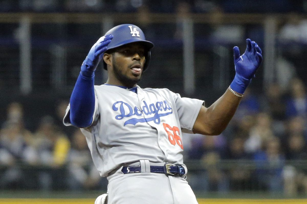 nlcs game 7 dodgers defeat brewers 5 1 advance to world series