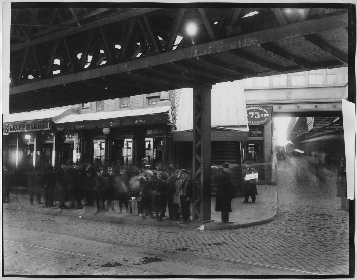 History of New York City's elevated train - Curbed NY