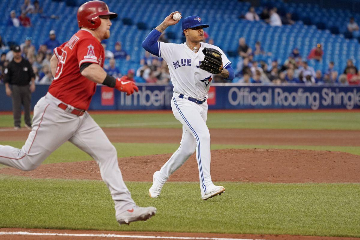 MLB: JUN 18 Angels at Blue Jays