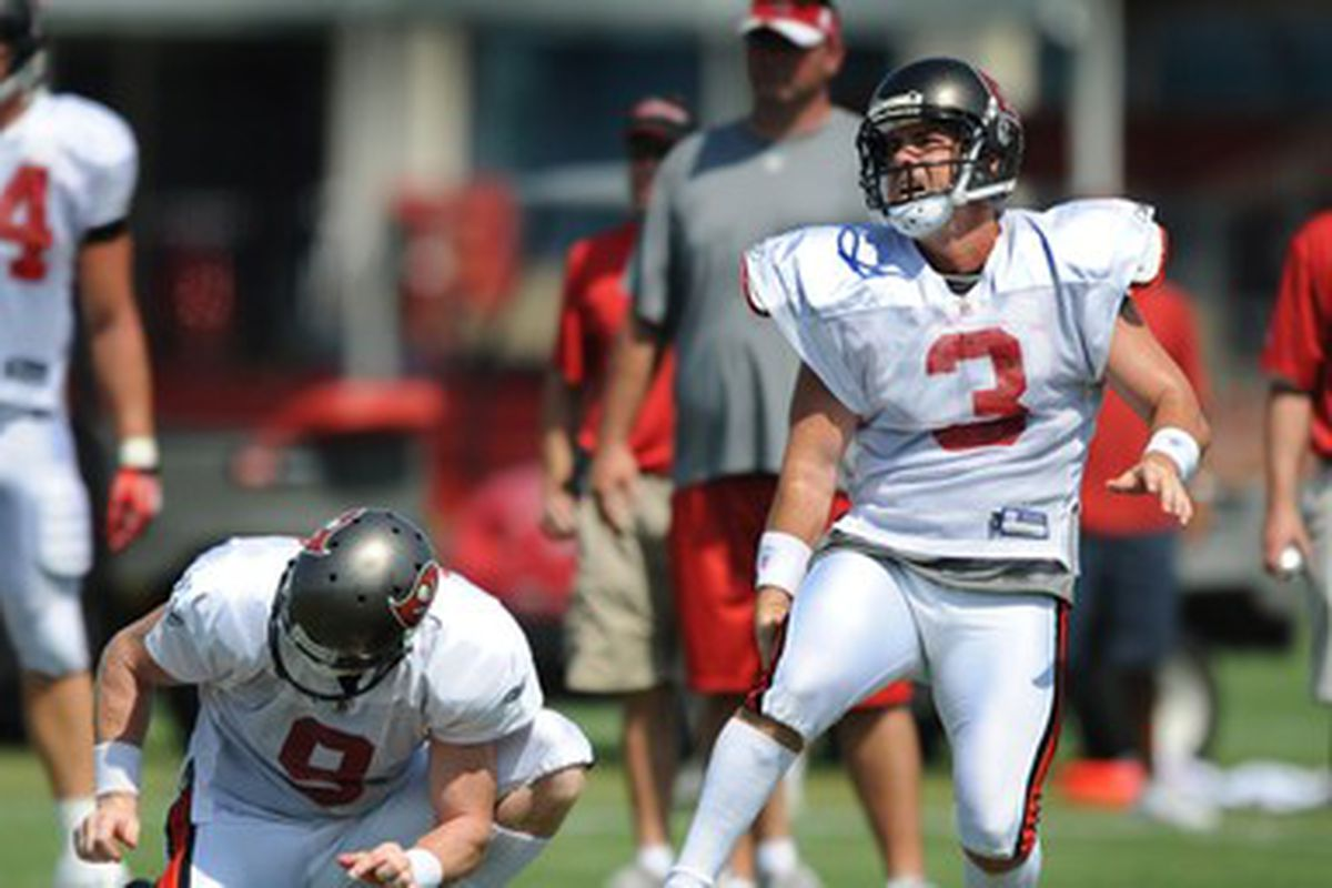 In the end, Injury, and age, did Bryant in as the Bucs kicker.