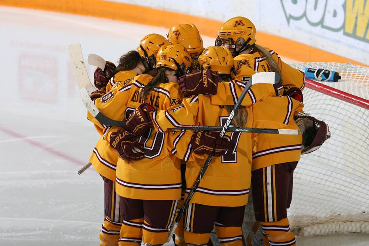 The Gophers hope to celebrate some more on Saturday!