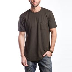 """Groceries Natural Hemp Crew Neck pocket tee, $44 at <a href=""""http://www.groceriesapparel.com/products/crew-raw-poc"""">Groceries</a>"""