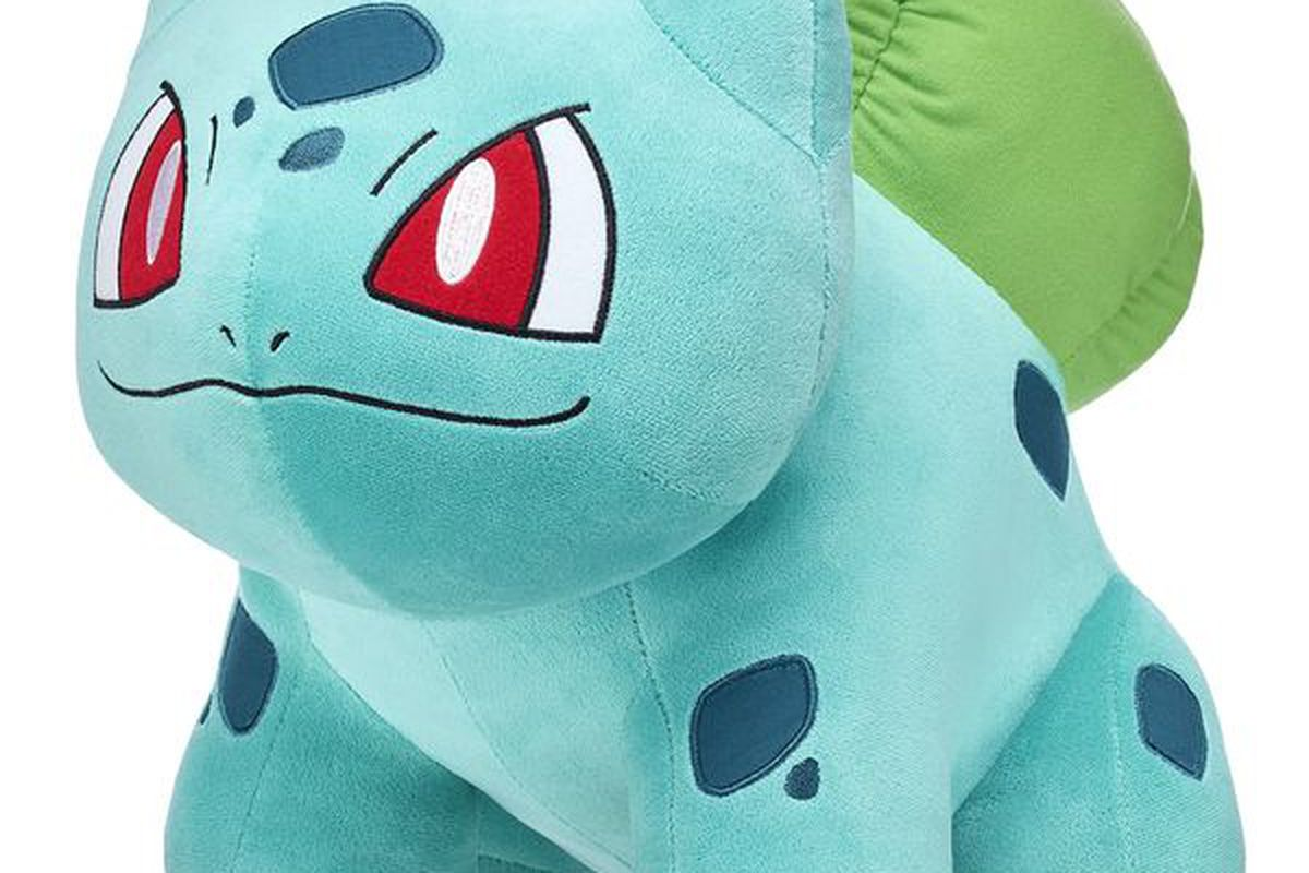 b62ff8734d7 Bulbasaur finally invited into Build-A-Bear Workshop s Pokémon collection