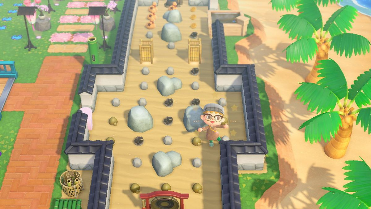 How to move all your rocks in Animal Crossing: New ...