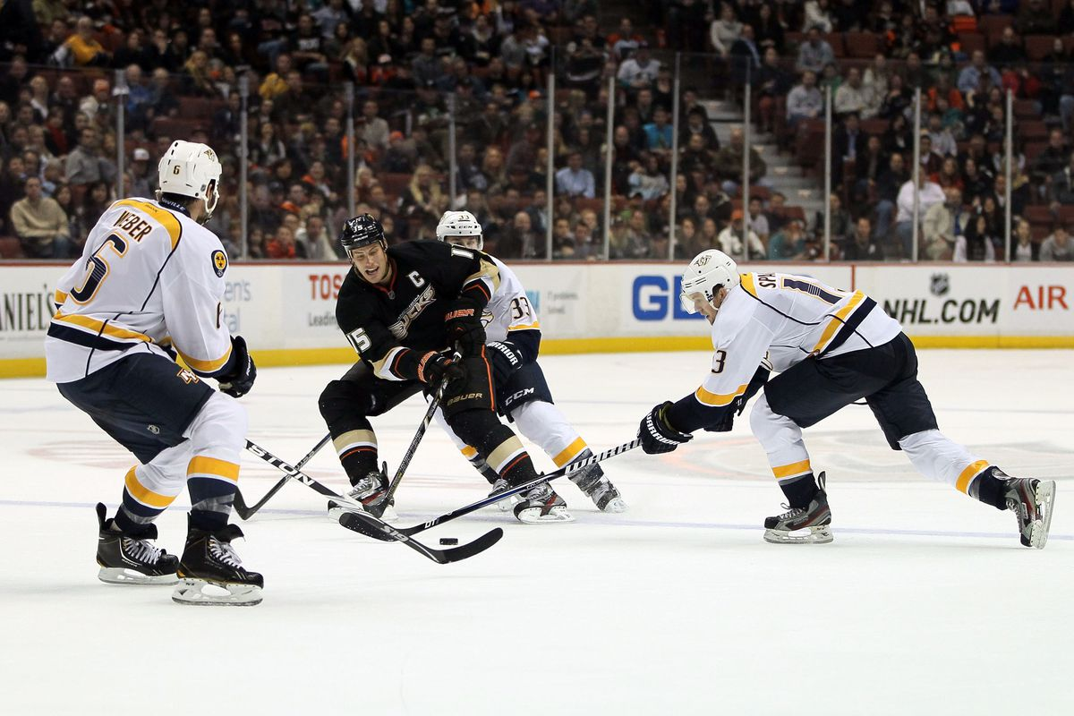 Getzlaf and Company will see a lot of this tonight
