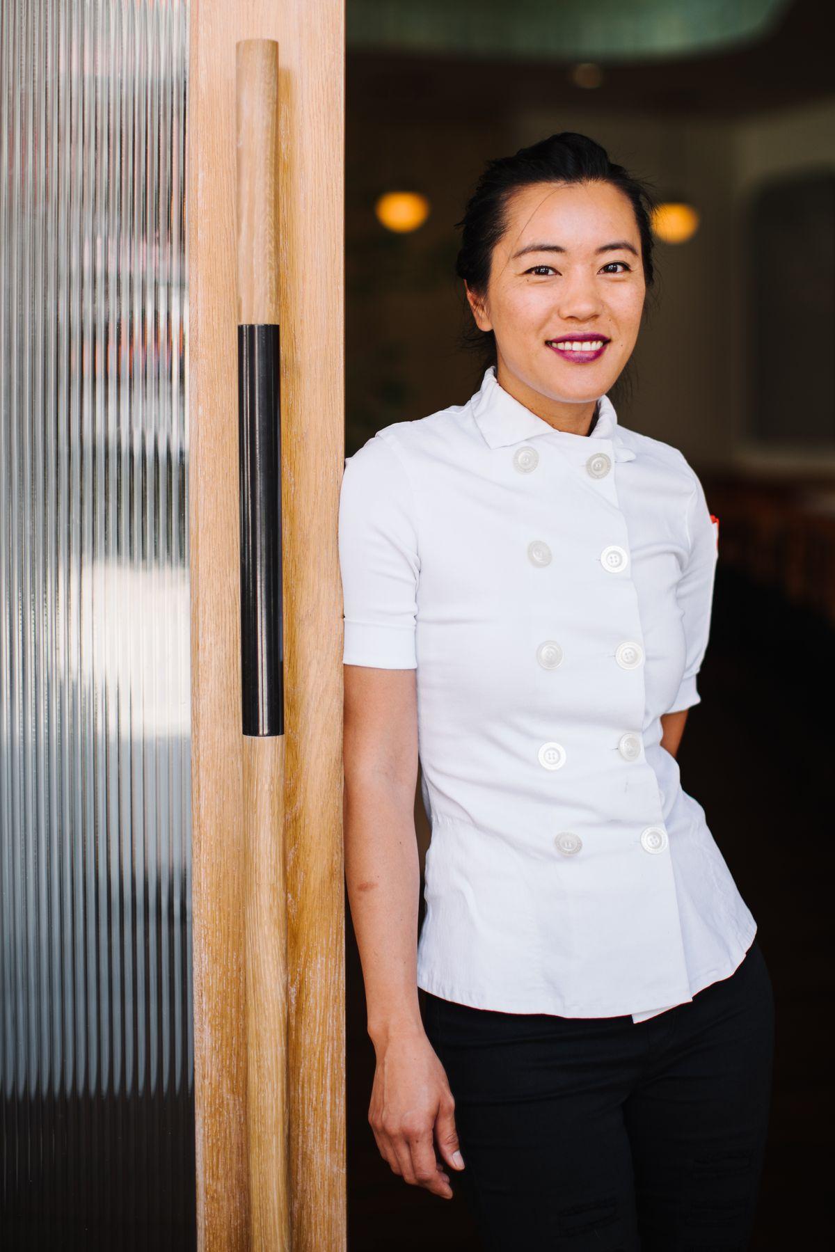Pastry chef Jen Yee
