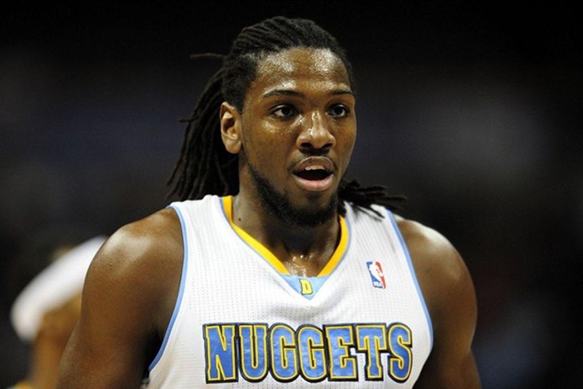 Denver Nuggets power forward Kenneth Faried