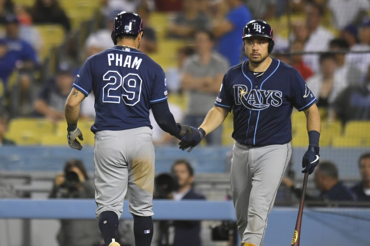 Rays outlast Dodgers in extra-innings, Yankees' magic number still 1
