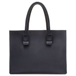 """<strong>Zara</strong> Limited Edition Structured Leather Shopper, <a href=""""http://www.zara.com/us/en/woman/handbags/large-handbags/limited-editionstructured-leather-shopper-c269203p1517535.html"""">$229</a>"""