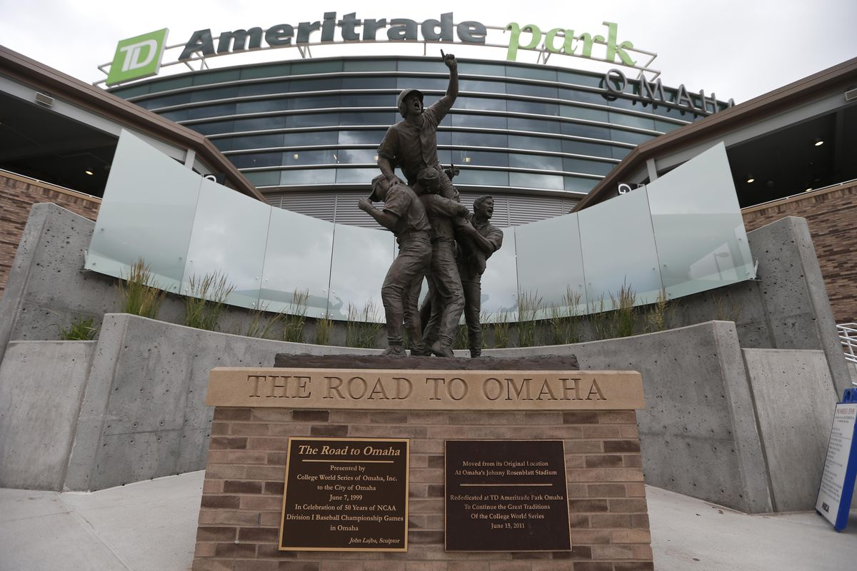 TD Ameritrade Park is the home of the College World Series, and this weekend's Big Ten Tournament