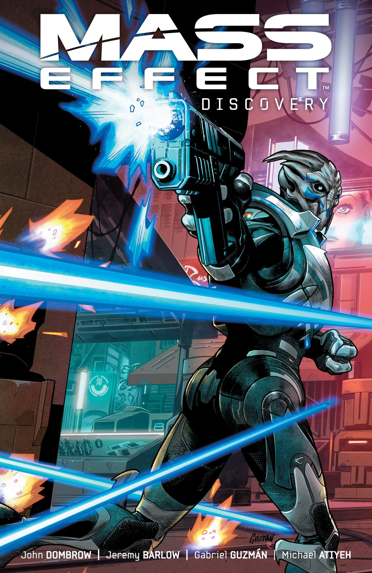 The cover of Mass Effect: Discovery, Dark Horse Comics, 2017.