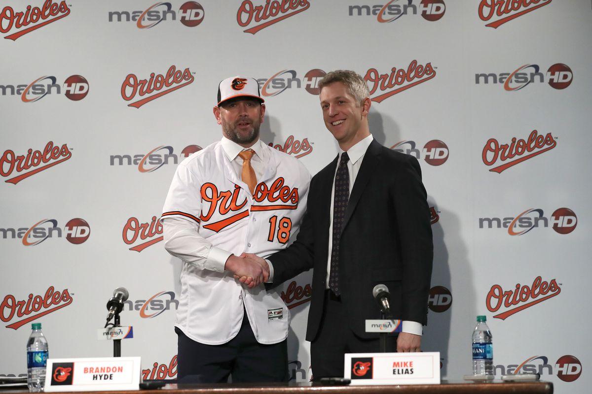 Baltimore Orioles Introduce Brandon Hyde