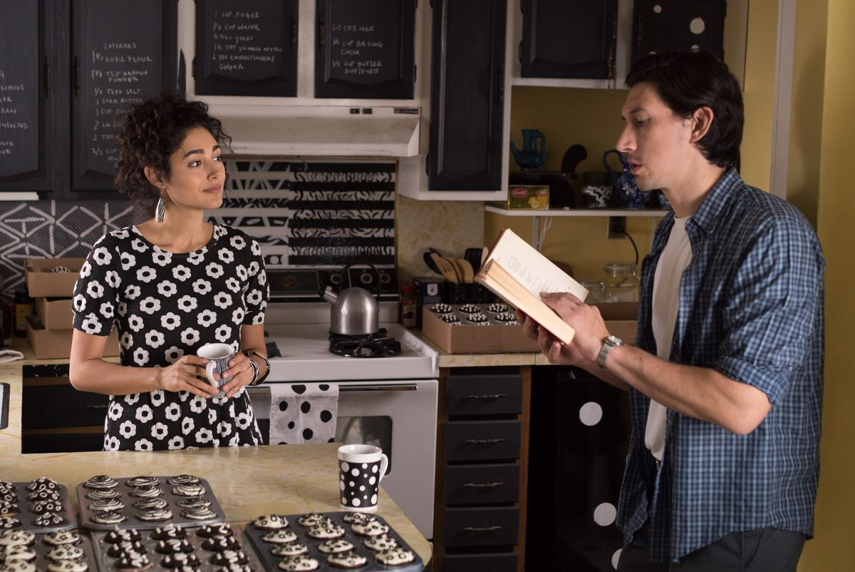 Golshifteh Farahani and Adam Driver in Paterson