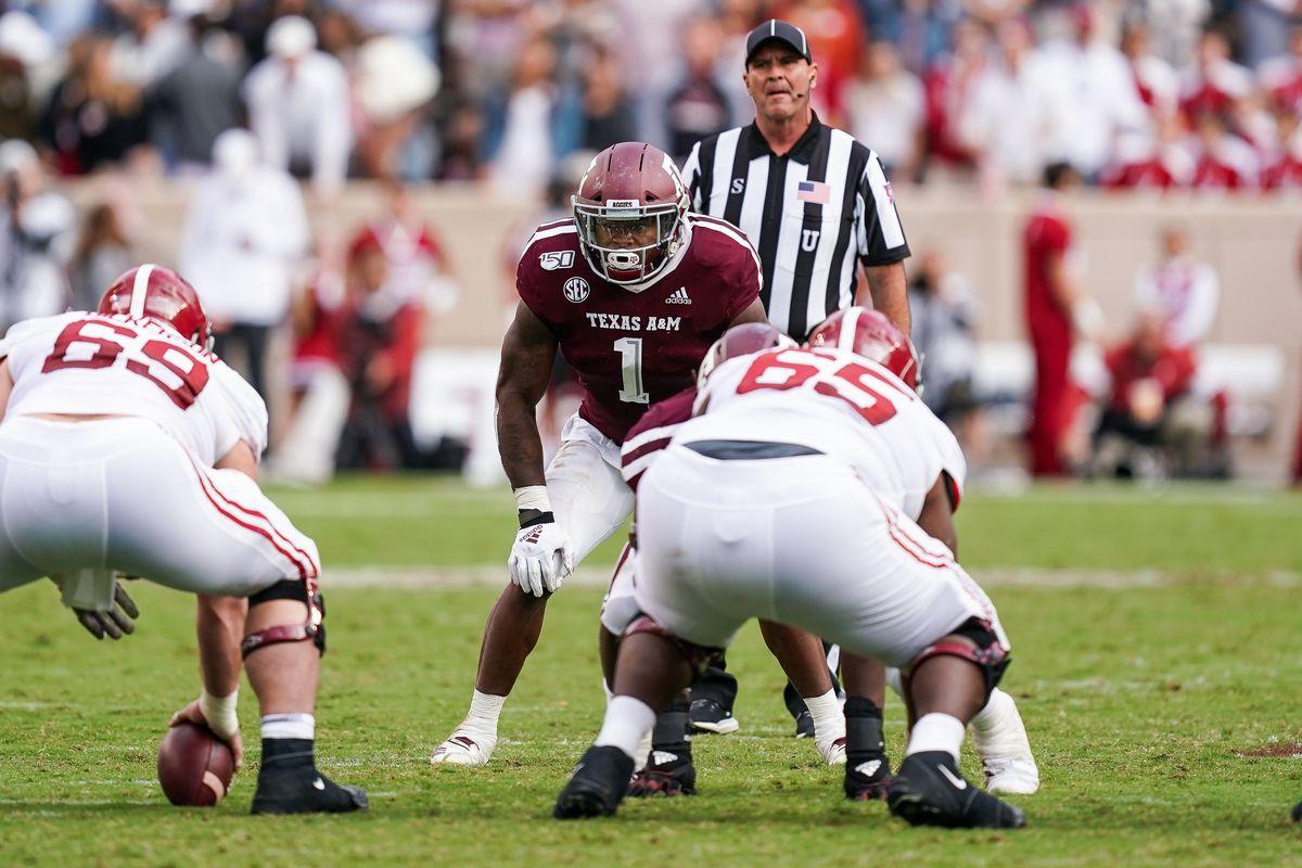 COLLEGE FOOTBALL: OCT 12 Alabama at Texas A&M