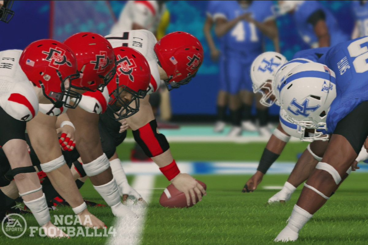 Soccer Football Sport Game: Players Are Finally Getting Paid For Old 'NCAA Football