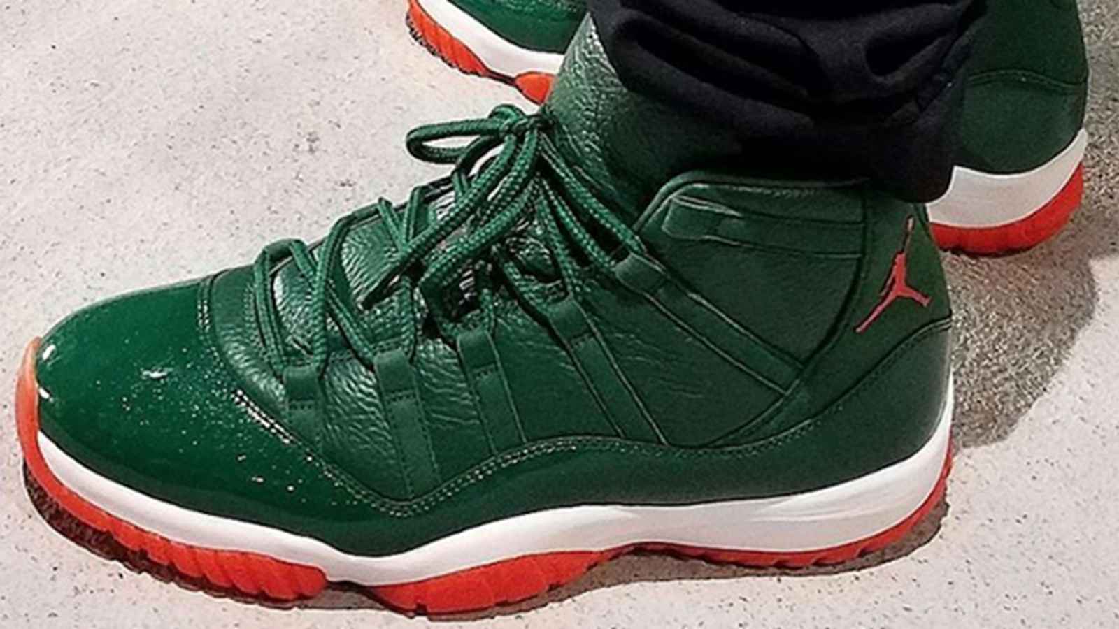 Miami Hurricanes Basketball Shoes