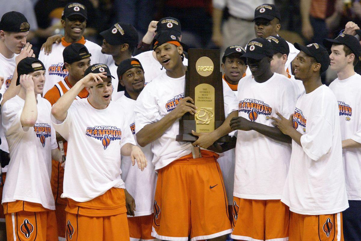 Where Does Syracuse S 2003 Team Rank Among Last 33 Ncaa