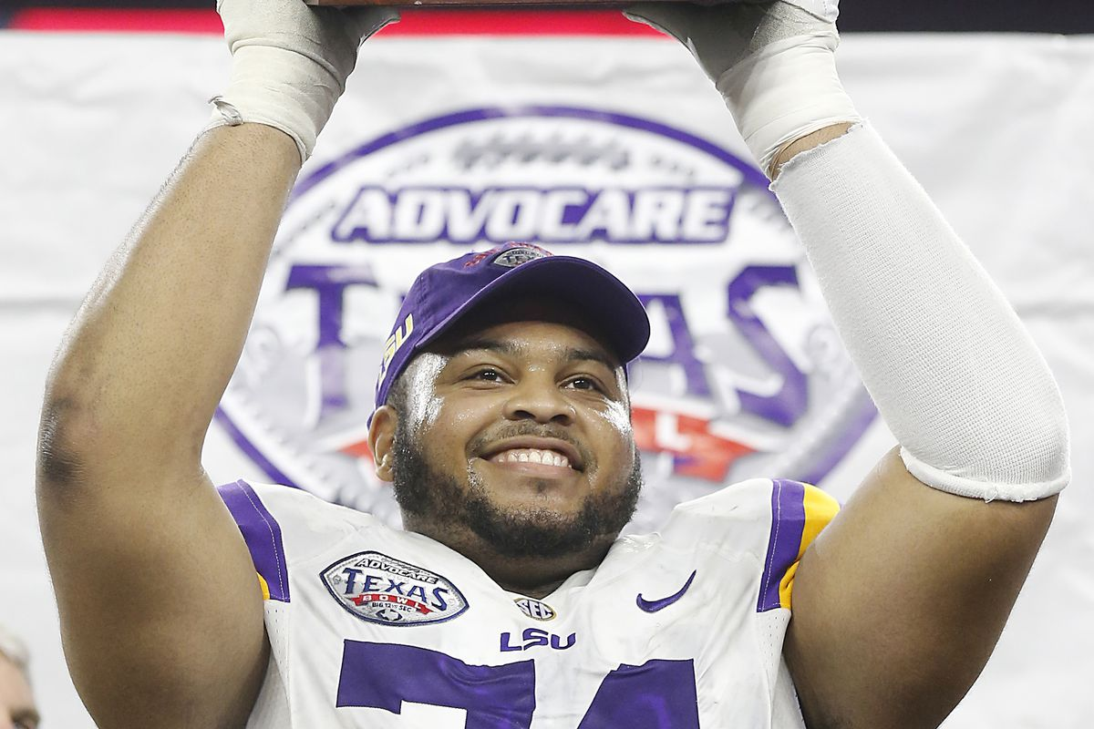Could former LSU G/T Vadal Alexander land with the Saints today?