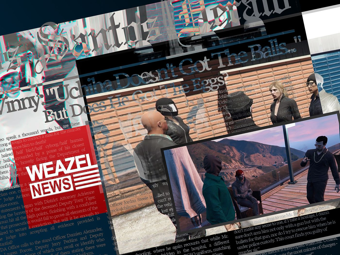 Grand Theft Auto 5 Role Players Have Created Rival Newspapers To Document The City S News Polygon